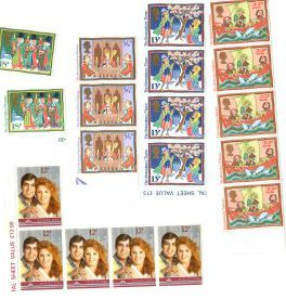 Postage stamps 1984